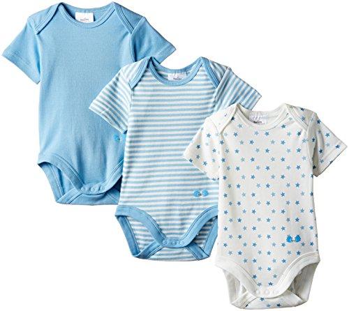 Twins - 101905, Body Bimba 0-24, Blu (baby blue), 1 mes (Taglia Produttore: 56)