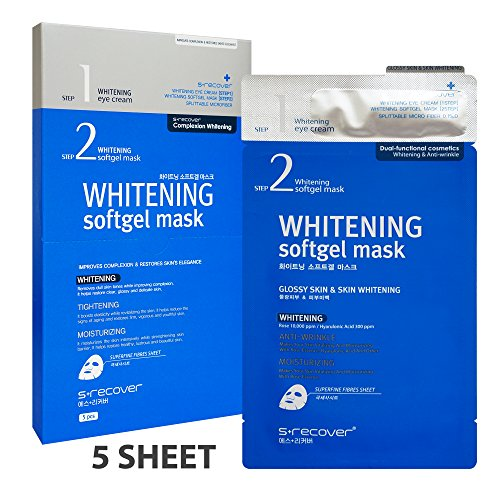 S+recover Softgel Mask Pack - Whitening - 1