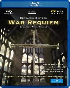 Britten War Requiem Erin Wall Mark Padmore Hanno Muller-brachmann Arthaus 108070 Blu-ray by Arthaus