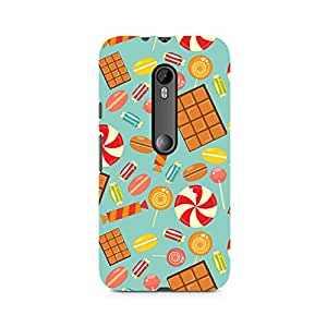 Ebby Chocolate and Candy Premium Printed Case For Moto G3