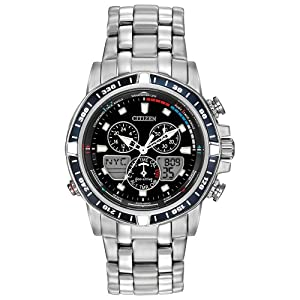 Citizen Men's JR4051-54L Sailhawk Analog Display Japanese Quartz Silver Watch