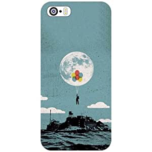 Apple iPhone 5S Phone Cover -In The Water Matte Finish Phone Cover