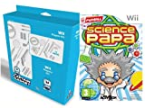 Captain Gadget Science Papa Wii bundle including 13 accessories