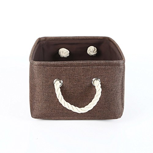 Justhonesty Collapsible Toy Linen Storage Box