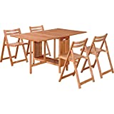 5-Pc. Space Saver Dining Set - Natural