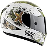 AGV T-2 WARRIOR HELMET WHITE MD