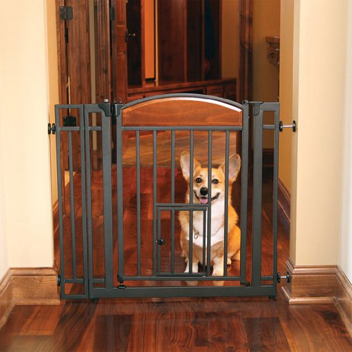 Baby Gates With A Pet Door For Your Baby And Pet Best
