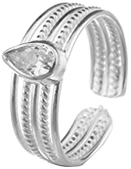 Jewels Cart Sterling Silver Toe Ring For Women - B018QT6942
