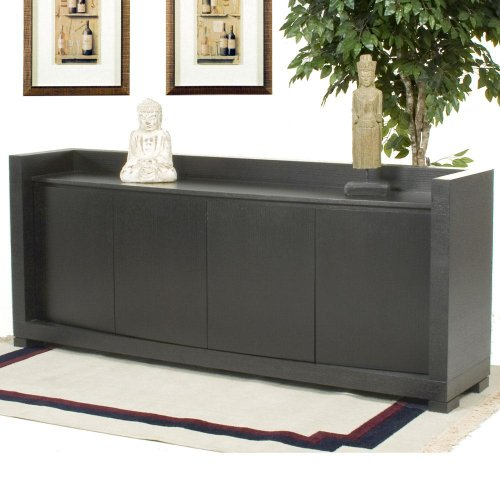 Buy Low Price LaFlat DM-D0610 84 Inch 4 Door Curved Front Dining Buffet (DM-D0610)