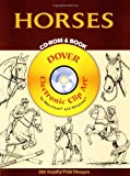 Horses CD-ROM and Book (Dover Electronic Clip Art) (0486995542) by John Green