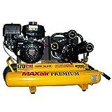 MAXair 9-HP 10-Gallon Wheelbarrow Air Compressor w/ Honda Engine - TT90G-MAP