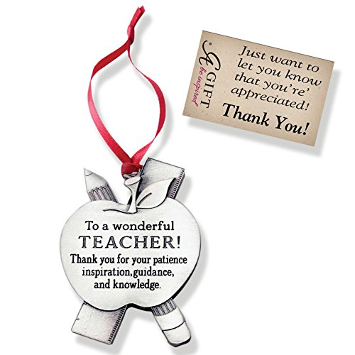 Cathedral Art CO765 Teacher Occupation Ornament, 2-1/4-Inch