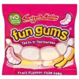 Swizzels Matlow Fun Gums Teeth 'n' Toothbrush (Pack of 60)