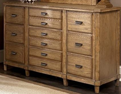 Danbury Heights Medium Brown Bedroom Dresser