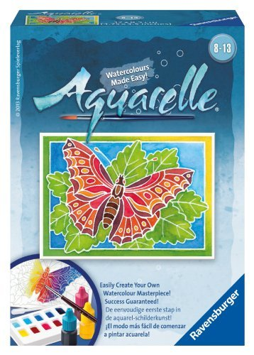Ravensburger Aquarelle Butterfly Arts and Crafts Kit