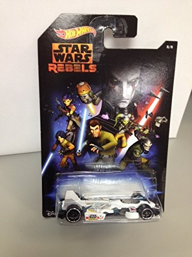Hot Wheels star wars rebels JET THREAT 3.0 - 1