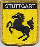 Stuttgart Germany Flag Embroidered Patch Badge