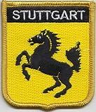 Stuttgart Germany Flag Embroidered Patch Badge