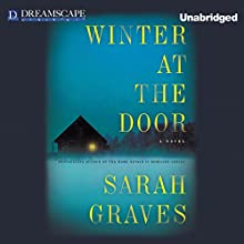 Winter at the Door: A Lizzie Snow Mystery, Book 1 (       UNABRIDGED) by Sarah Graves Narrated by Kirsten Potter