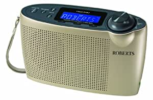Roberts Classic DAB2 DAB/DAB+/FM Digital Radio with Simple Presets - Champagne