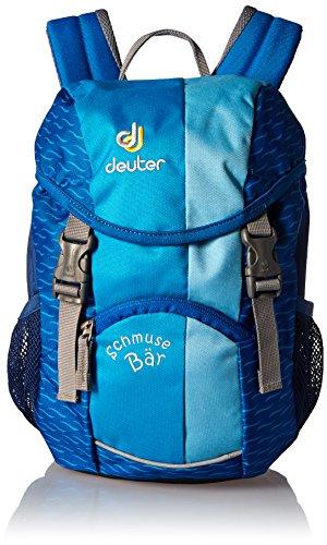 Deuter-Kinder-Wanderrucksack-Schmusebr-turquoise-34-x-20-x-16-cm-8-Liter-3600330060