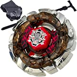 Metal Fusion 4 D Beyblade Starter Set W/ Launcher & Ripcord!
