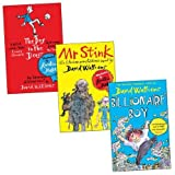 David Walliams David Walliams Trio, 3 books, RRP £20.97 (Billionaire Boy; Boy In The Dress; Mr Stink).