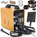 MIG-130 Gas-Less Flux Core Wire Welder Welding Machine Automatic Feed Unit DIY