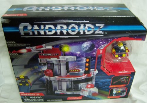Androidz Firepost 15 Playset w/ Hack Jaw Robot