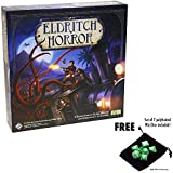 Eldritch Horror Board Game with Free Set of 7 Polyhedral Wiz Dice