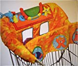 Infantino Cart Adventure Shopping Cart Cover, Ocean Voyage