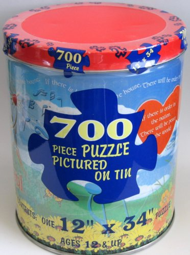 Chicken Soup for the Soul 700 Piece Puzzle in Tin Can