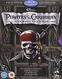 Pirates of the Caribbean 1-4 Box Set