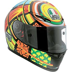 AGV GP-Tech Full Face Motorcycle Helmet Elements Small S
