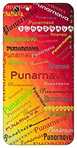 Punarnava (a star) Name & Sign Printed All over customize & Personalized!! Protective back cover for your Smart Phone : Apple iPhone 6
