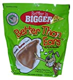 Better Than Ears Premium Dog Treats, Smoky Bacon Flavor, 36-Count Pouch