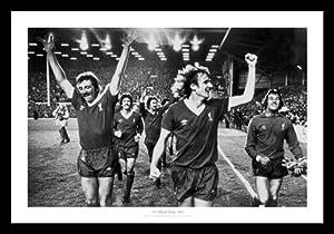 Liverpool Fc 1979 League Champions Framed Picture Memorabilia