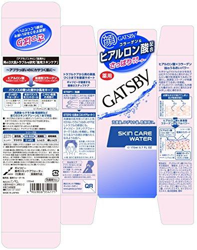 GATSBY (ギャツビー) 薬用スキンケアウォーター (医薬部外品) 170mL