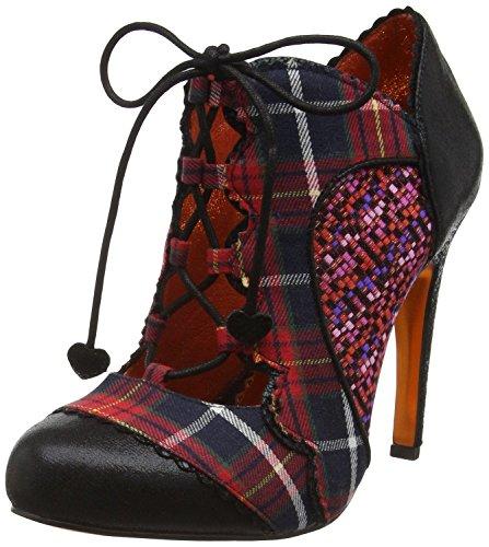 poetic-licence-halston-black-tartan-womens-hi-heels-shoes-4