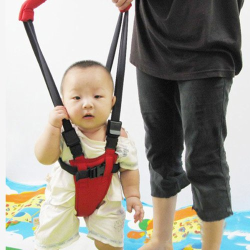 Baby Toddler Safety Harness Strap Rein Infant Walking Red (For kids 6-14 month old)