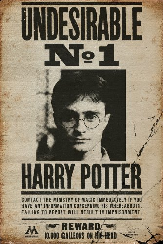 GB eye, Harry Potter, Undesirable No 1, Maxi Poster, 61x91.5cm
