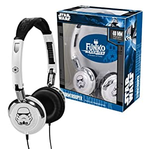 Funko Stormtrooper Fold-Up Headphones