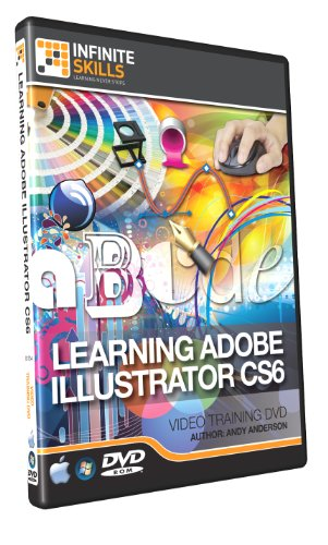 Learning Adobe Illustrator CS6 - Training DVD - InfiniteSkil (PC)