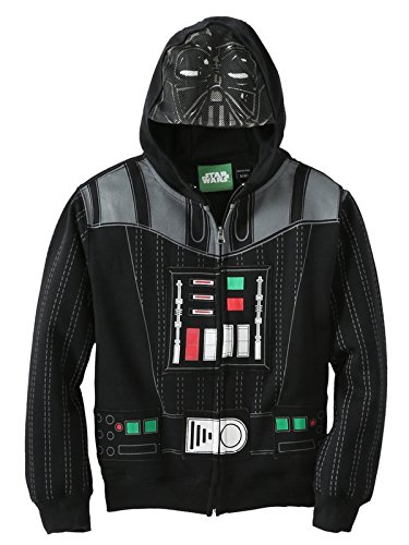 Star Wars Little Boys Darth Vader Character Hoodie XS 6-7