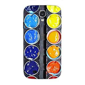 Designer Cute Phone Cases for Samsung S4-Steel Palatte