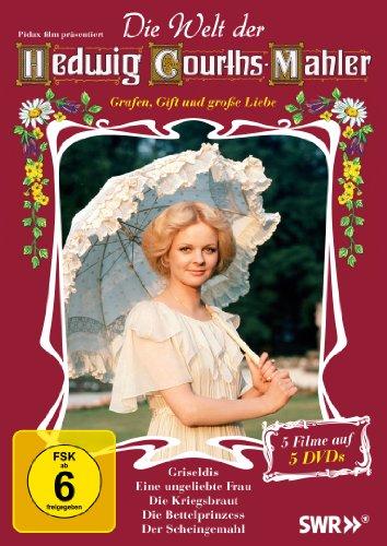 Die Welt der Hedwig Courths-Mahler (Griseldis + Eine ungeliebte Frau + Die Kriegsbraut + Die Bettelprinzess + Der Scheingemahl) [5 DVDs]