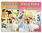 Fairy Tales to Read & Color 2-Pack by Vision…