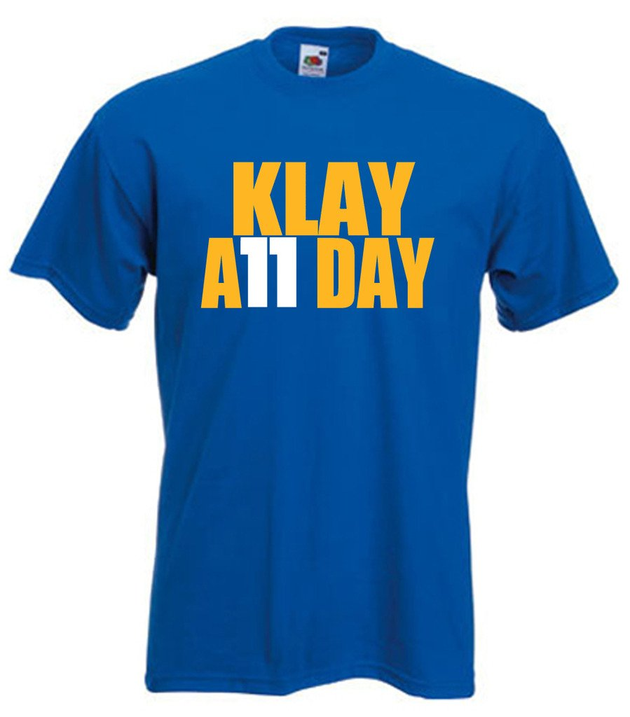 "Klay Thompson Golden State Warriors ""Klay All Day"" T-Shirt"