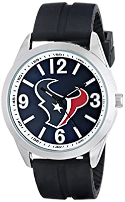 "Game Time Men's NFL-VAR-HOU ""Varsity"" Watch - Houston Texans"