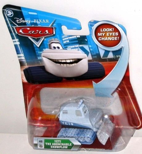 Disney / Pixar CARS Movie 155 Die Cast Car with Lenticular Eyes Series 2 Yeti The Abominable Snowplow - 1